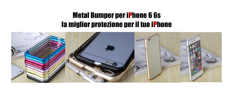 metal bumper iphone 6s 6 imania
